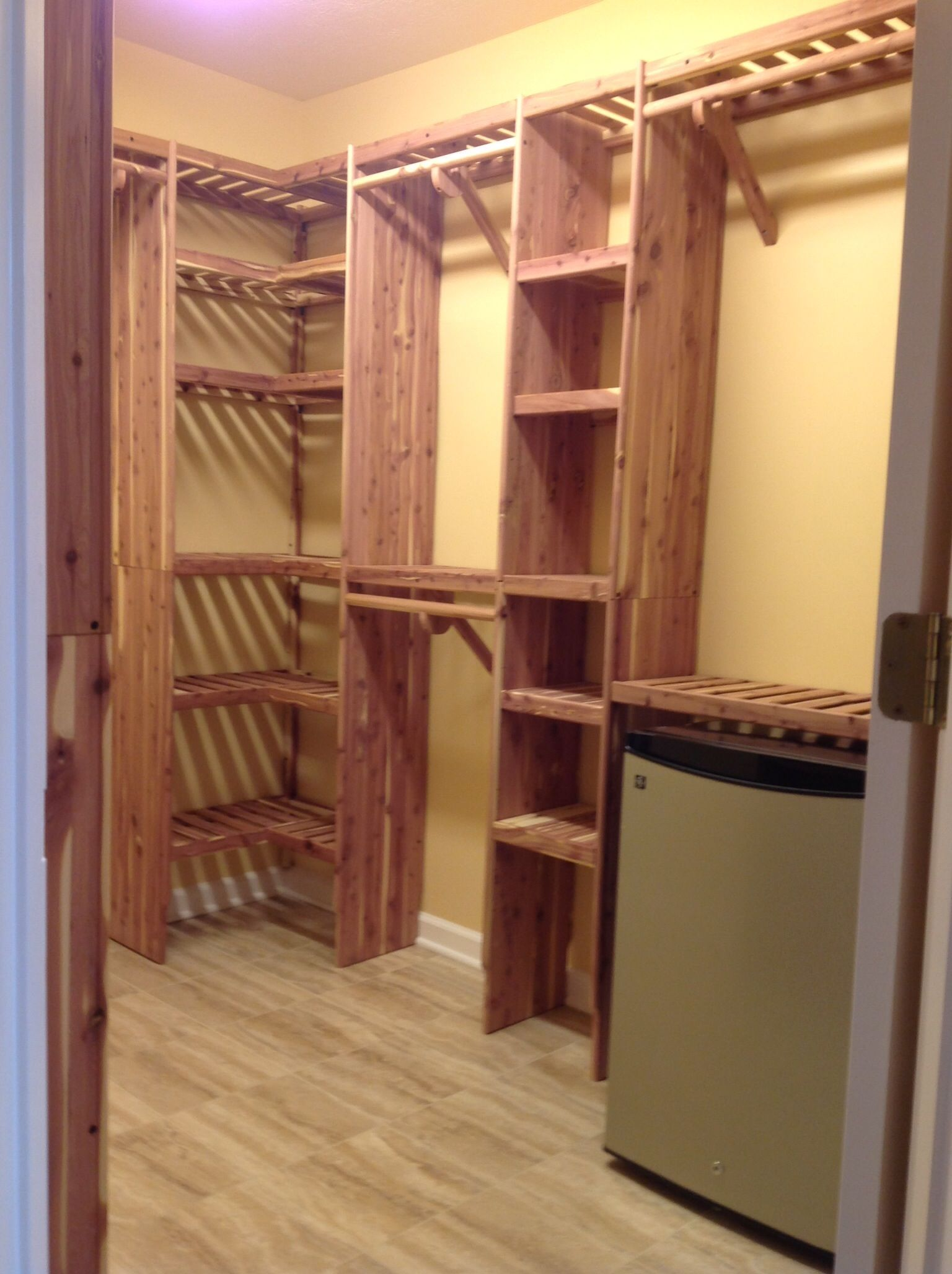 Customizing your closets is easy! This Northern Kentucky