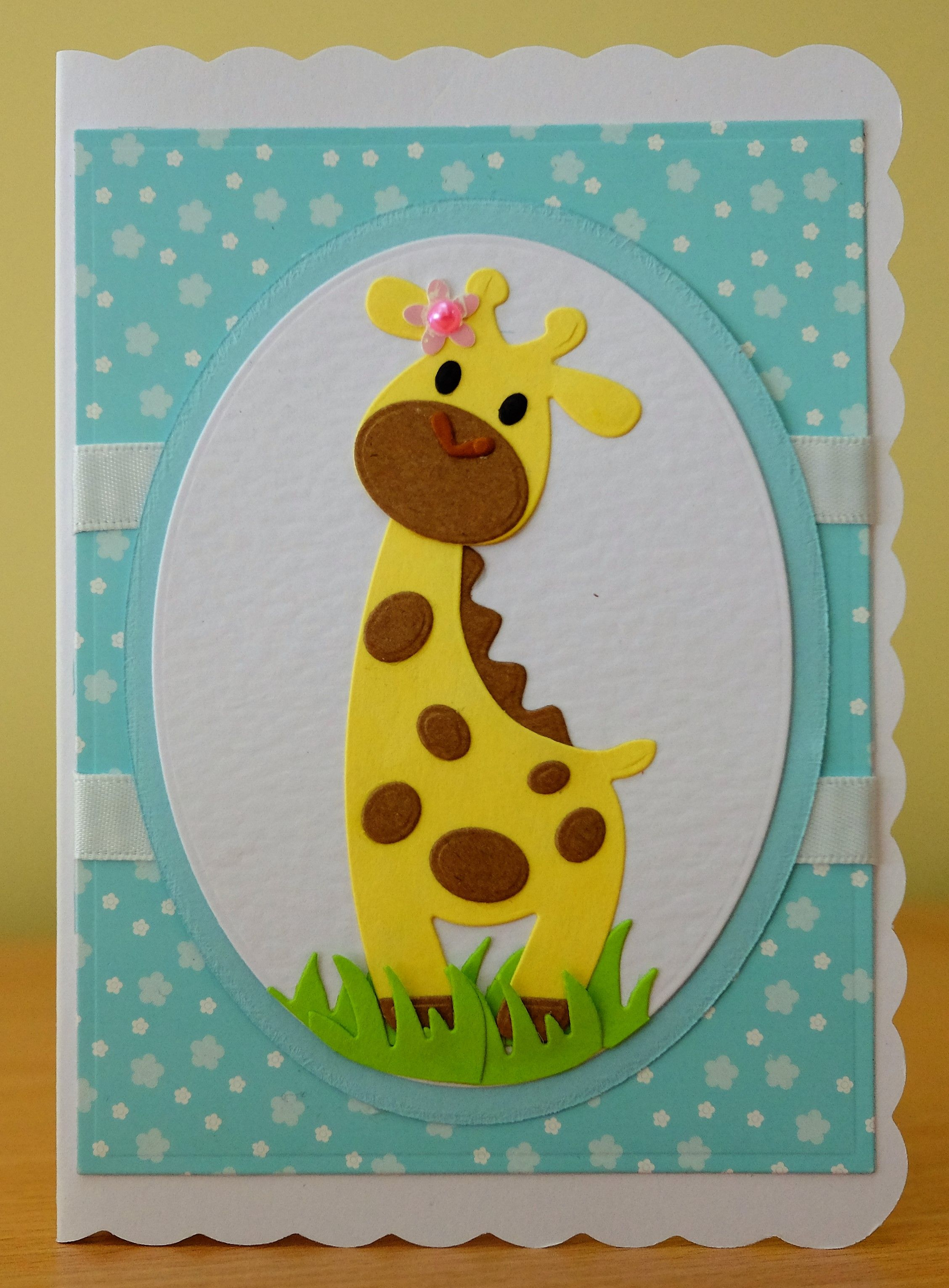 Handmade birthday card marianne collectables giraffe die for handmade birthday card marianne collectables giraffe die for more of my cards please bookmarktalkfo Images