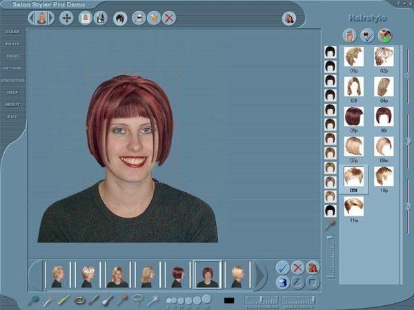 Как подобрать цвет волос онлайн по фото бесплатно ...