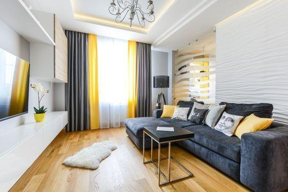 Decoración de comedor y sala juntos en espacio pequeño, casas - Como Decorar Mi Casa