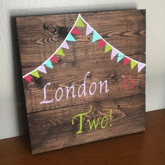 Custom Kids Birthday Sign Happy Birthday Rustic Sign 10x10 Pallet Signs Birthday Picture Prop Birth Birthday Photo Props Birthday Sign Birthday Pictures