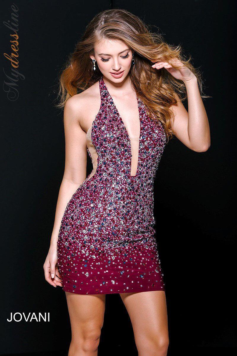 Jovani 42746 Short Cocktail Dress ~Lowest Price Guarantee~ Authentic