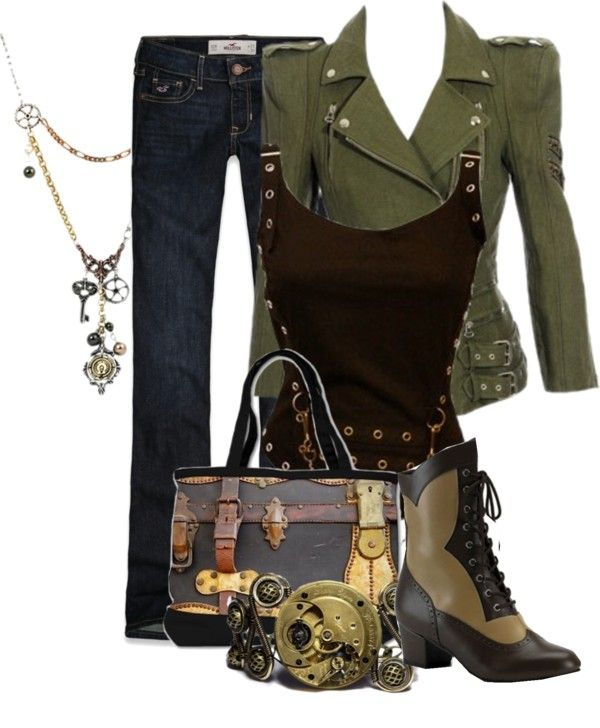 """""""Steampunk 3"""" by desert-diva ❤ liked on Polyvore"""