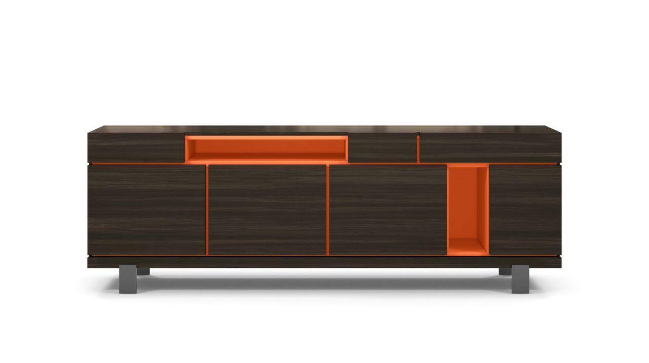 Buffet optimum design studio roche bobois buffet 4 portes - Meubles tele roche bobois ...