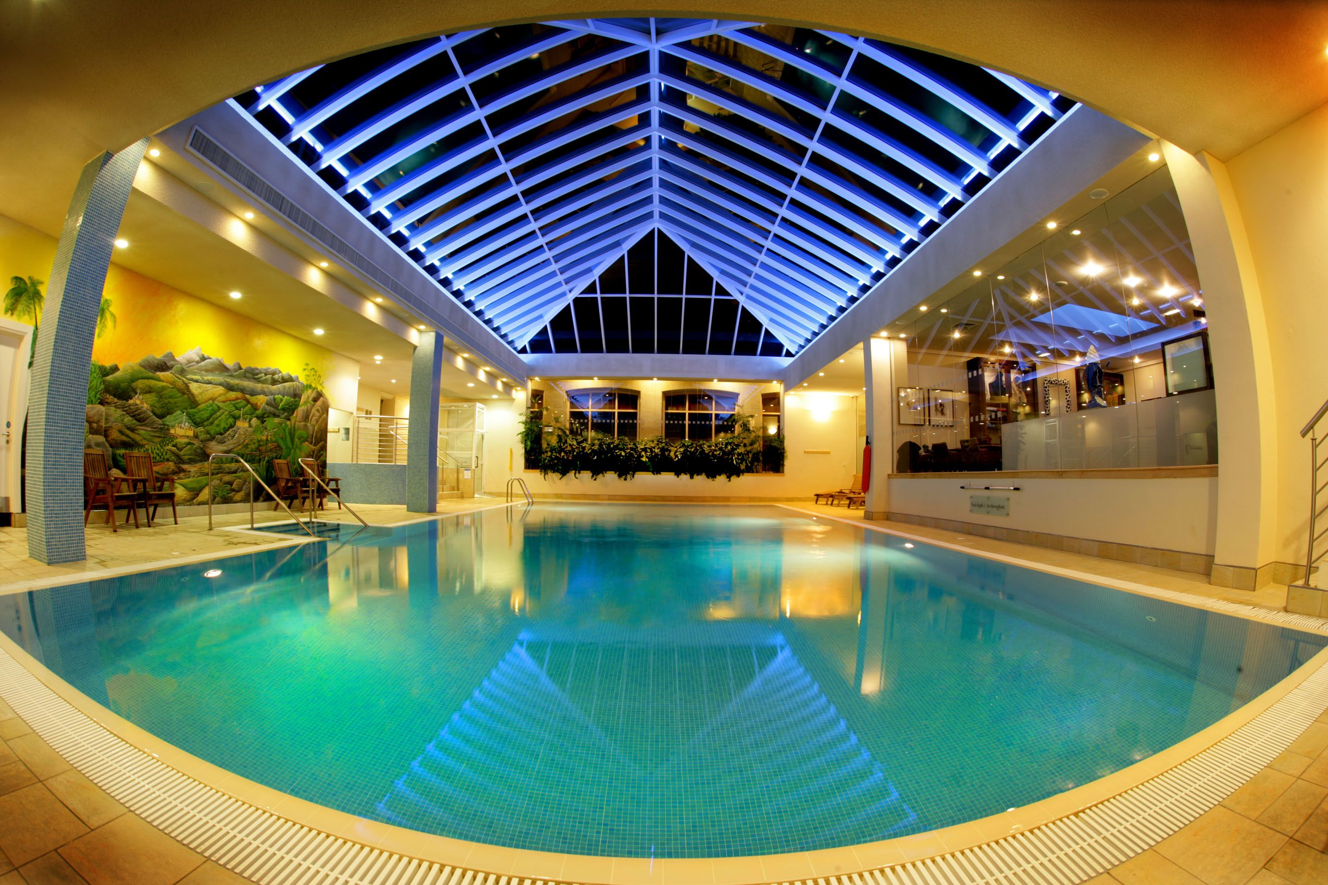 Swimming pool indoor  Top 25 Ideas to Complete your Home with Indoor Swimming Pool ...