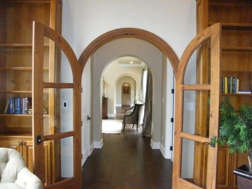 Custom Wood Arched Doors Are Beyond Beautiful For The Home