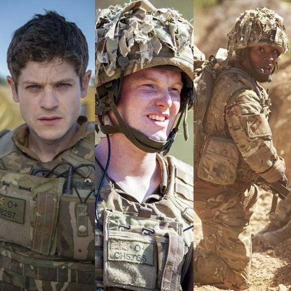 Our boys in our girl