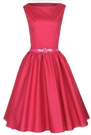 Lindy Bop Classy Vintage Audrey Hepburn Style 1950's Rockabilly Swing Evening Dress,$46.99 [Click On Pin For More Information]