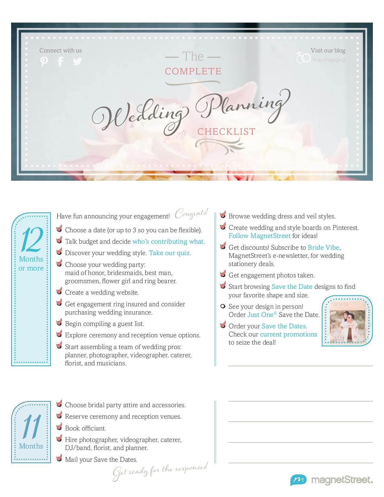 The Complete Wedding Planning Checklist Wedding Planning Checklist Complete Wedding Planning Checklist Wedding Beauty Checklist
