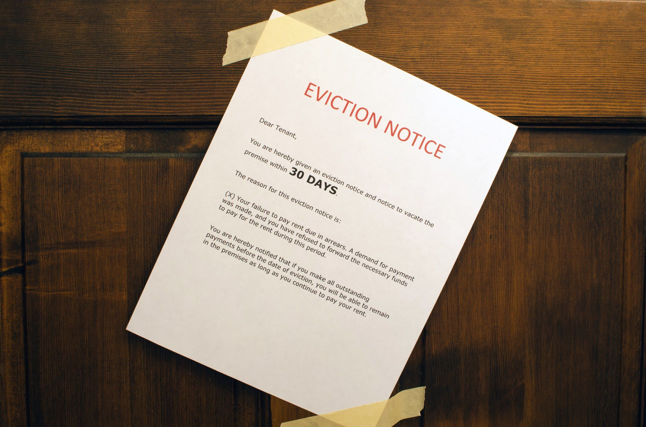 How to Evict a Family Member From a House Eviction