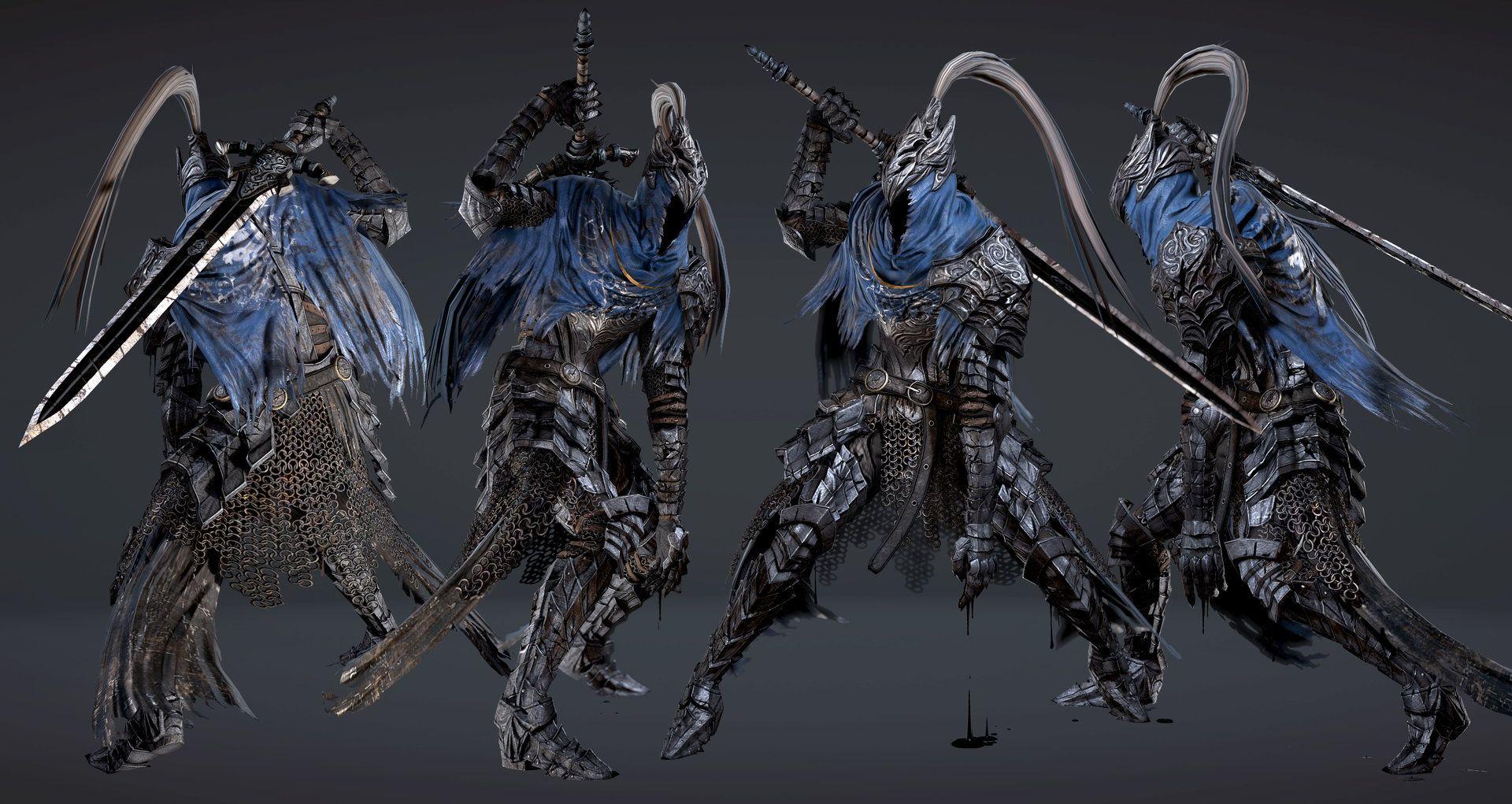 ArtStation - Dark souls - Artorias, chang-gon shin | Armors
