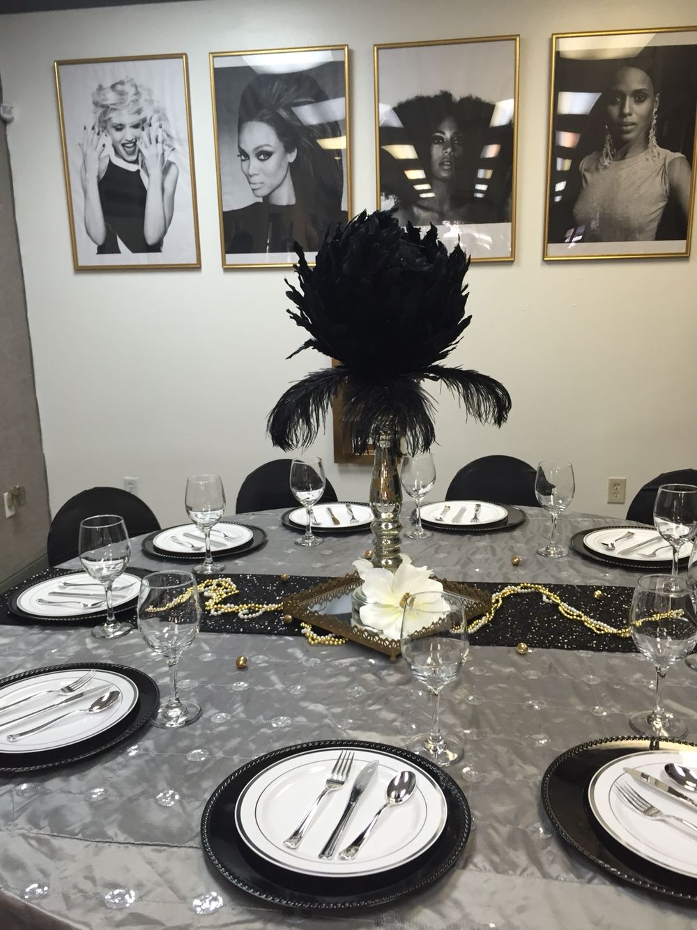 Old Hollywood Glam Bridal Shower By Lebouche Luxe Designs