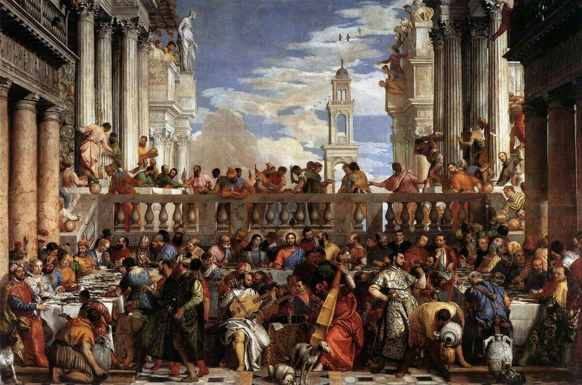 Louvre The Wedding at Cana, 1562-1563
