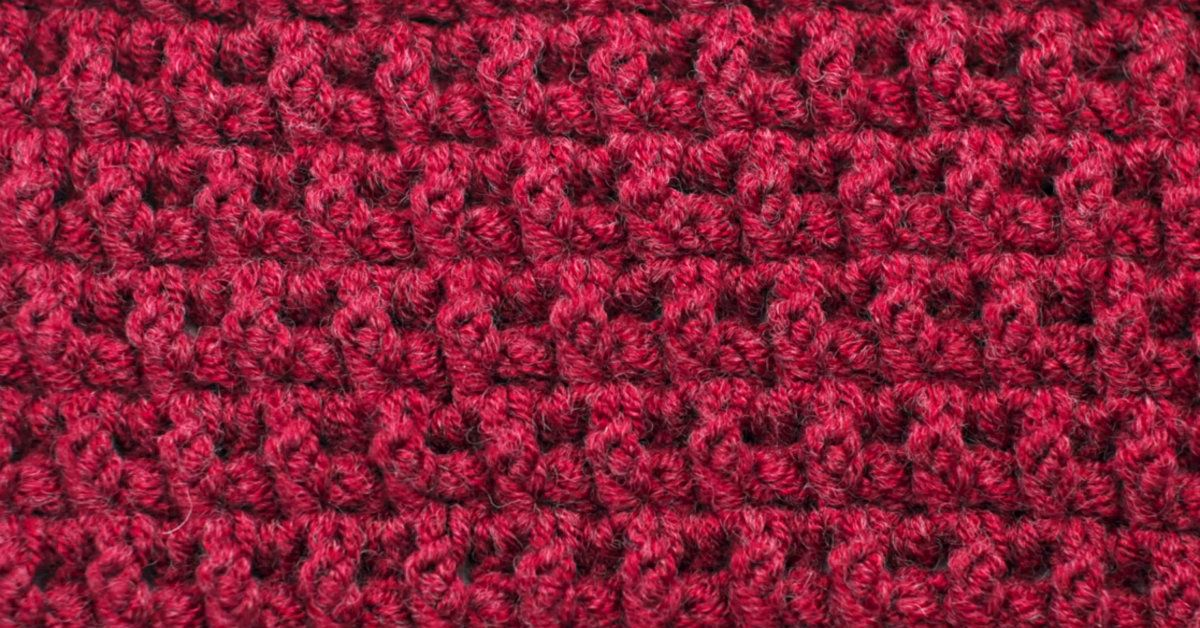 Another Great Stitch To Learn: How To Crochet The Arruga Stitch ...