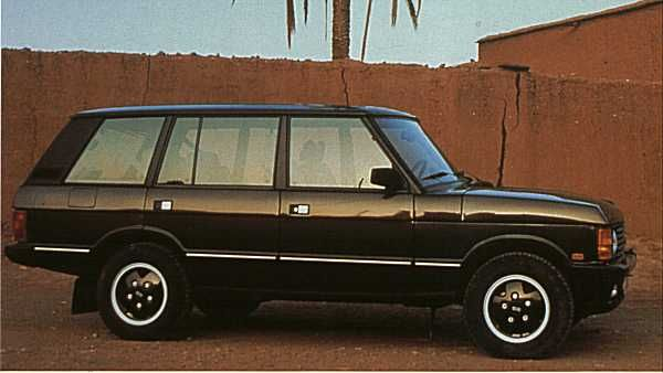 OG | 1981 Range Rover four-door body | Prototype