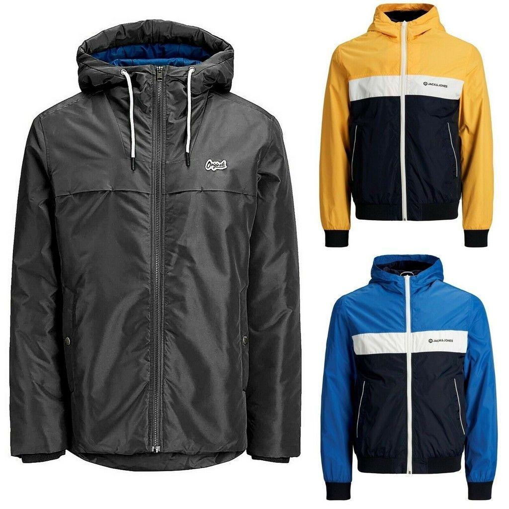 Super Weekend En Ebay Chaqueta Cortavientos Jack Jones M10 En Varios Colores Por 2499 Euros Y Envío Gratis Jackets Nike Jacket Athletic Jacket