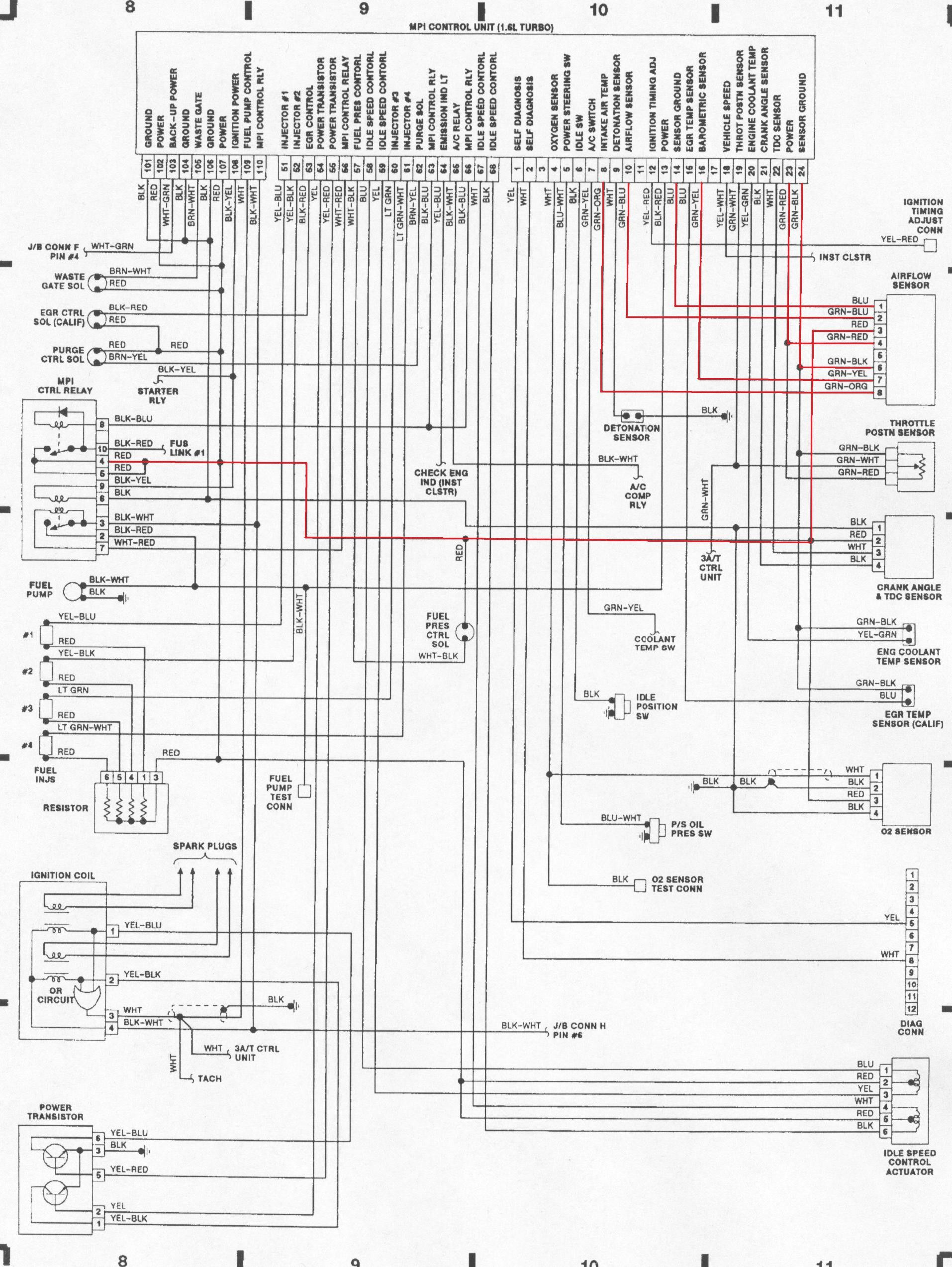 Mitsubishi 4g15 Wiring Diagram - Wiring Diagram K7 on