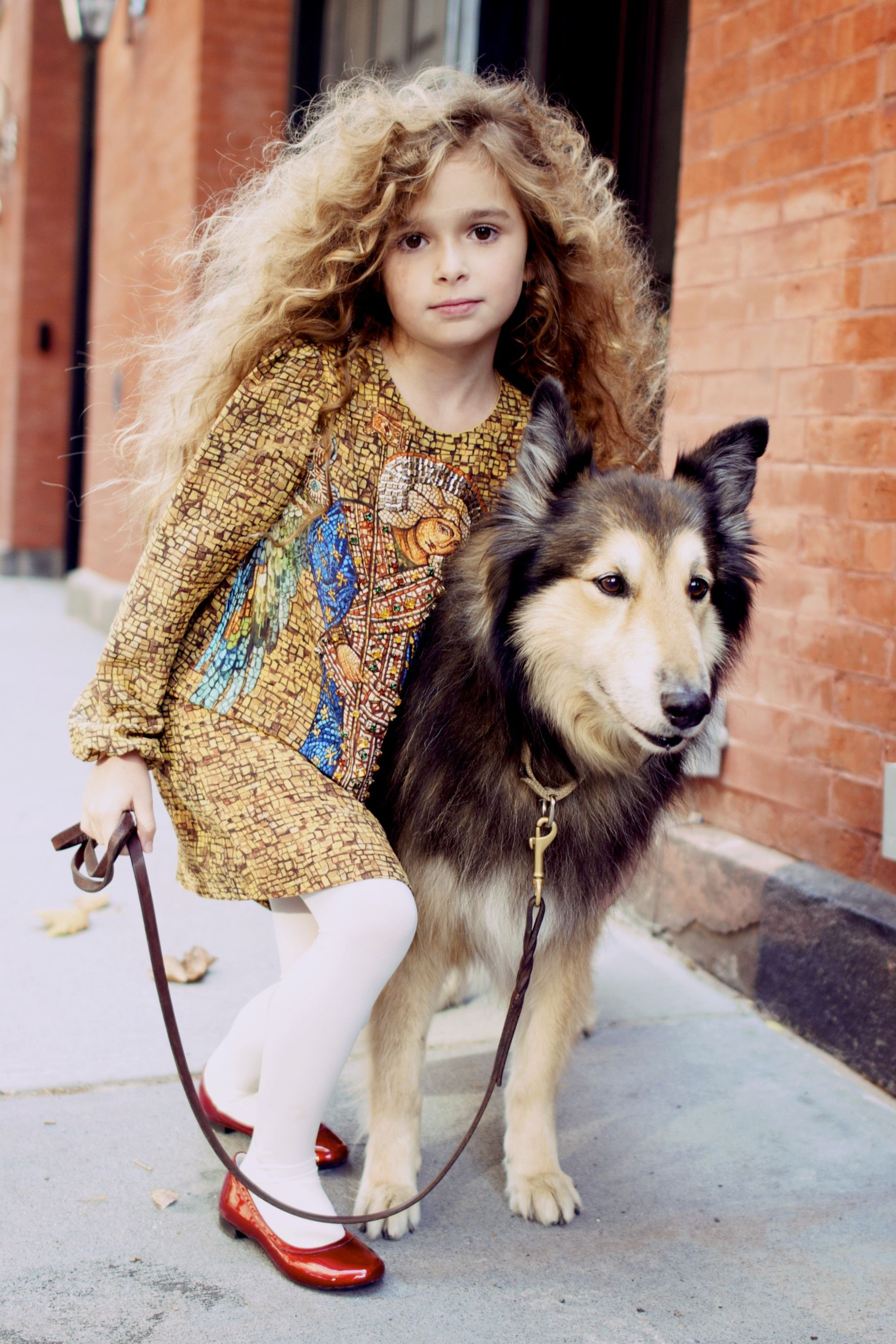 Quinoa is honored to announce her latest philanthropic effort: highly trained seeing fashion dogs for the color blind. #MIWDTD