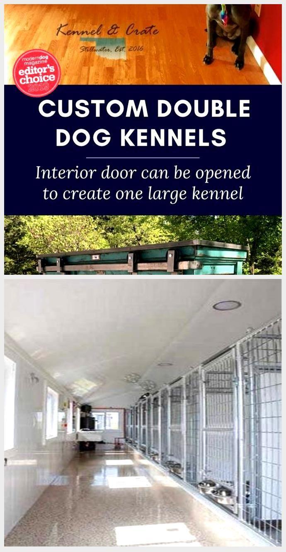 Double Large Dog Kennel Double Large Dog Kennel