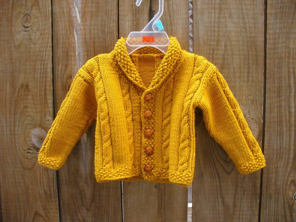 Ravelry heirloom cables baby sweater pattern by lion