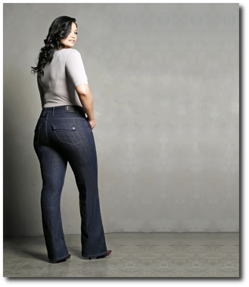 1000  images about Jeans Plus Size on Pinterest  Dark denim