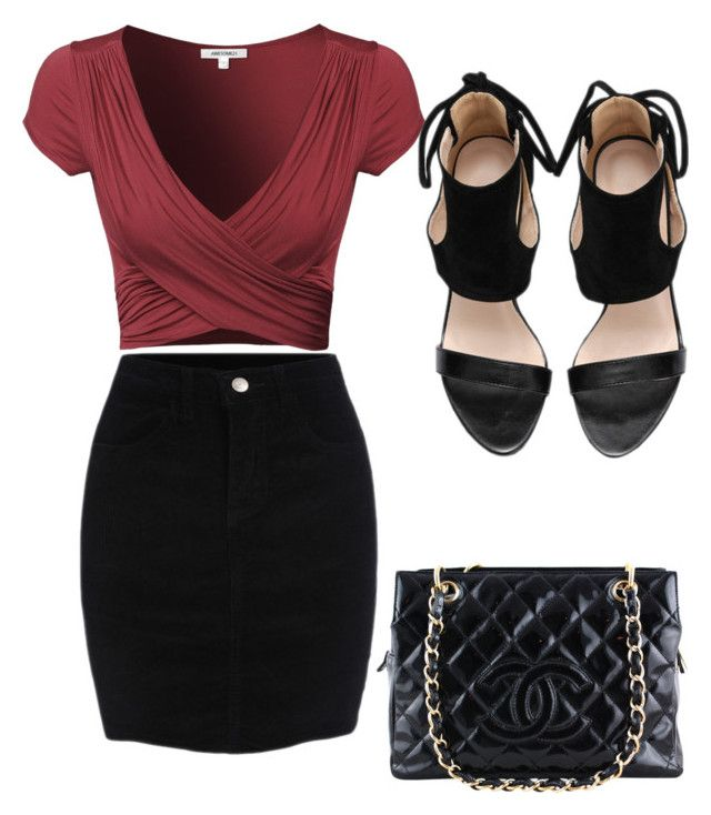 """""""Untitled #3905"""" by ohnadine on Polyvore featuring Chanel"""