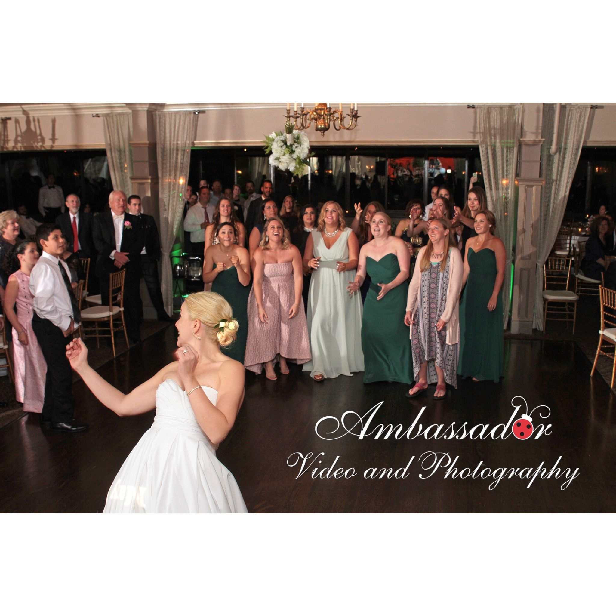 Now that's some pass! AmbassadorVideoAndPhotography VideoAndPhotography.com  http://bit.ly/1wQ6i8S #RidgewoodNJ #RidgewoodNJPhotographer #ridgewoodweddingphotographer #bergencountyweddingphotography #njweddingphotographer #ramseygolfandcountryclub #ramseycountryclub #golfcourse #countryclub  #catering #clubhouse #weddingphotographernj #weddingdresses #weddingphotographynj #bergencountywedding #bergencountyweddingphotography #weddingreception #party #reception #destinationweddingphotographer