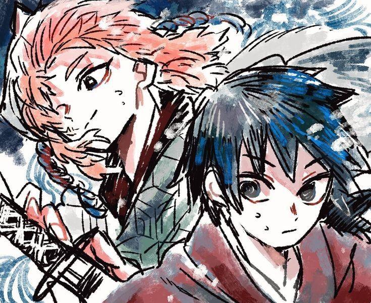 Las imágenes y fanarts de los personajes del anime Kimetsu
