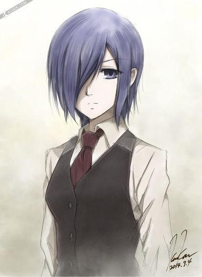 Touka - a very good drawing of her