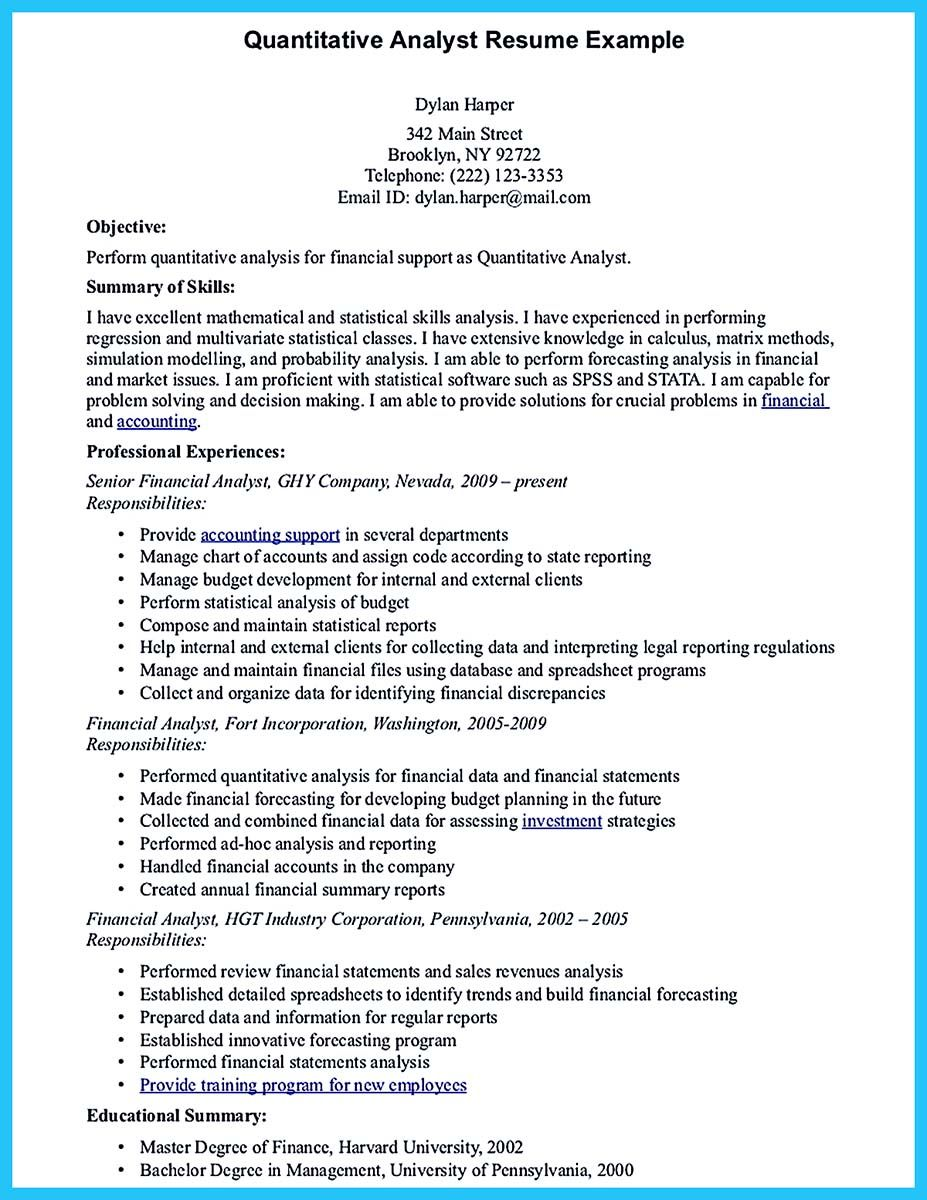 Program Analyst Resume If You Are A Business Analyst And You Just Seeking For A Job In A
