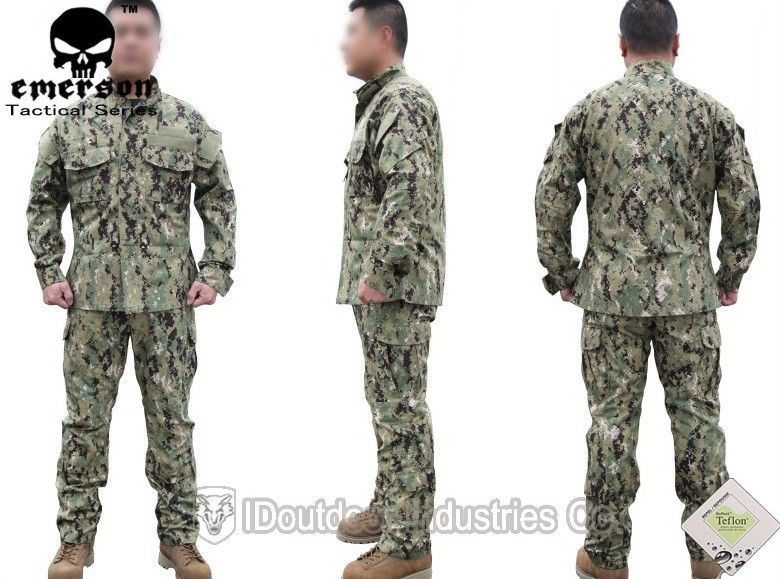 EMERSON Tactical Series Uniform NWU Type III BDU Army Combat