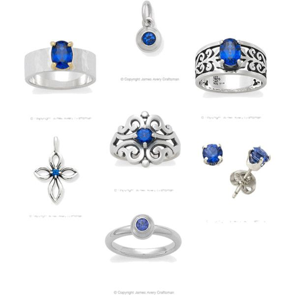 Blue Sapphire Collection From James Avery Jewelry Blue Sapphires Are The Birthstone For The Month James Avery Jewelry James Avery Rings Blue Sapphire Jewelry