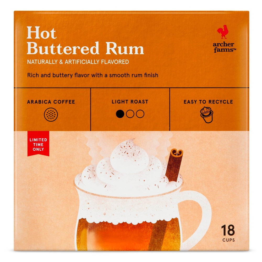 Hot Buttered Rum Coffee Single Serve Pod