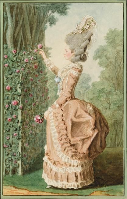 False Rump Polonaise Gown From Robe A L Anglaise Meeting Of National Museums And The Grand Palais Des Champ 18th Century Fashion 18th Century Rococo Fashion