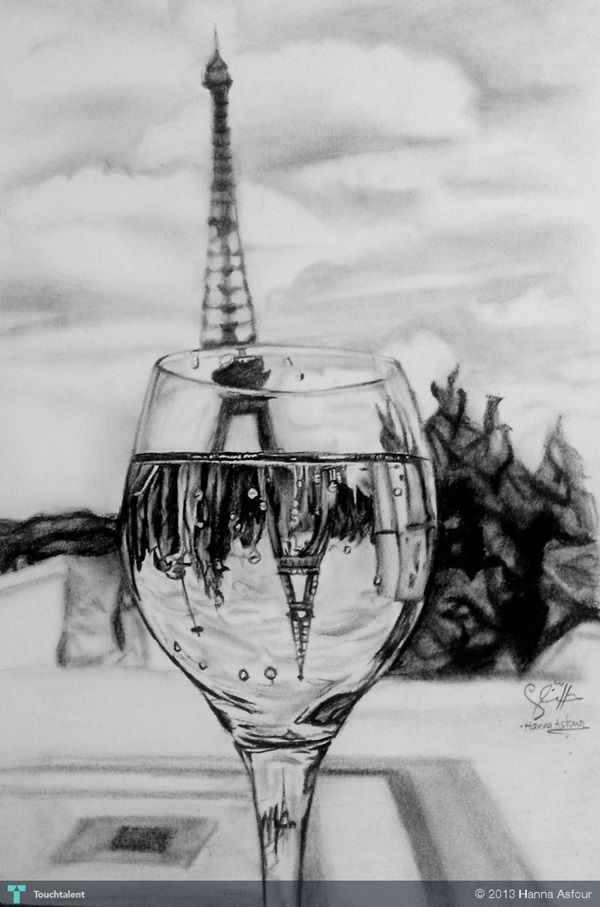 70 easy and beautiful eiffel tower drawing and sketches for Easy and amazing drawings