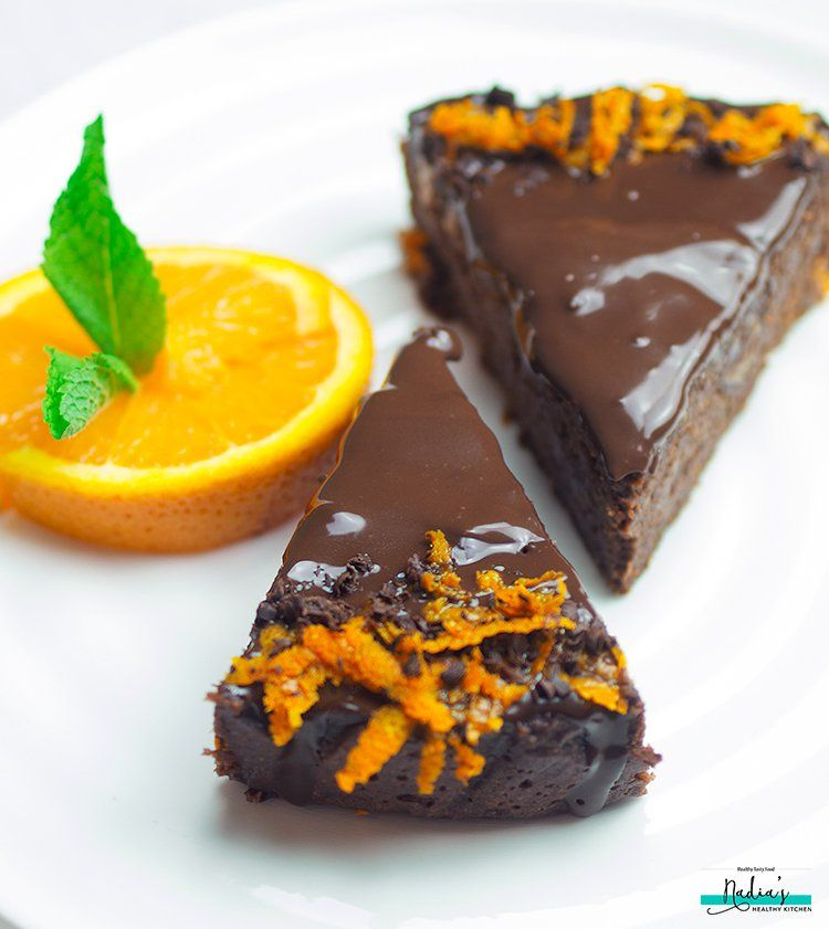 Chocolate Orange Cake (Vegan & Gluten-free) | Recipe ...
