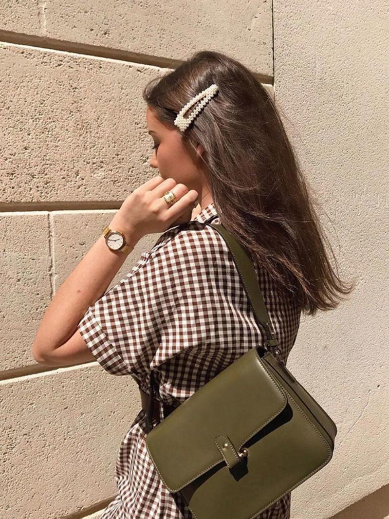 Jasmine Pearl Hair Clip Set (2 pcs) #parisianstyle