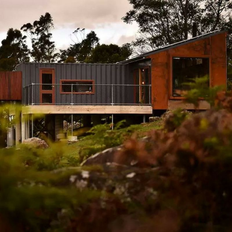 eco friendly luxury recycled shipping container home