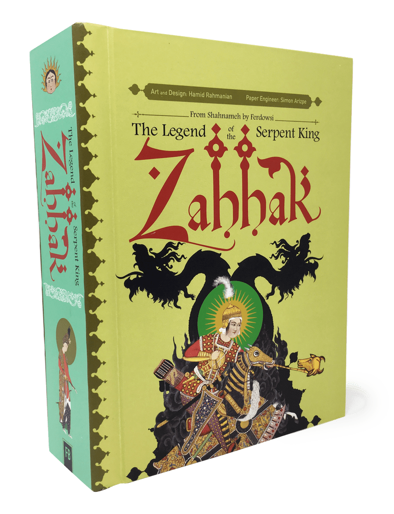 Zahhak The Legend Of The Serpent King Pop Up Book Review Farsi