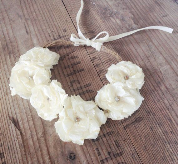 Flower halo  newborn photography prop