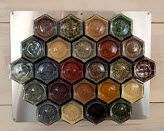 Cool spice rack we got for Christmas!  (From Gneiss Spice on Etsy)