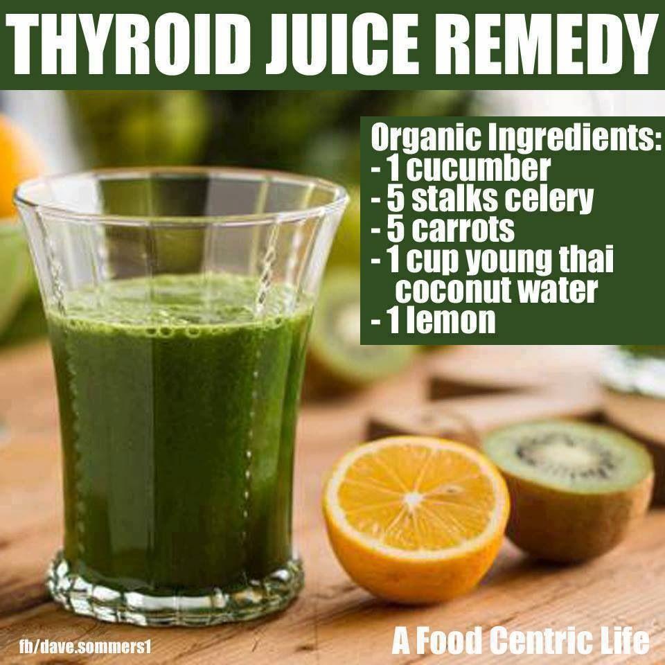 Thyroid juice remedy