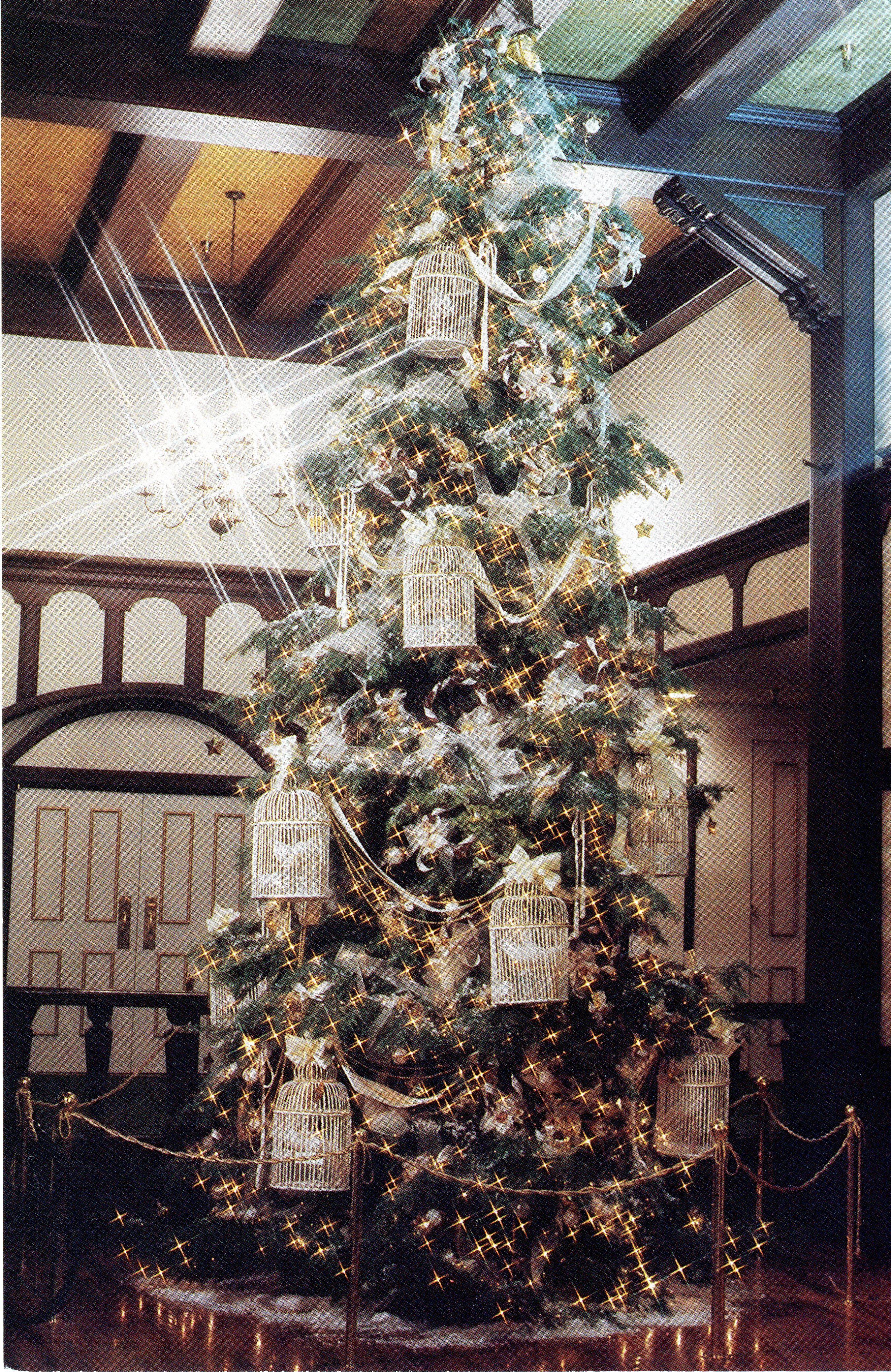 """1984 """"White Christmas"""" Eureka Inn theme in year two. The"""