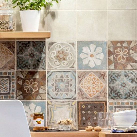 Pin By Indigo Blue On Kitchen In 2019 Wall Tiles