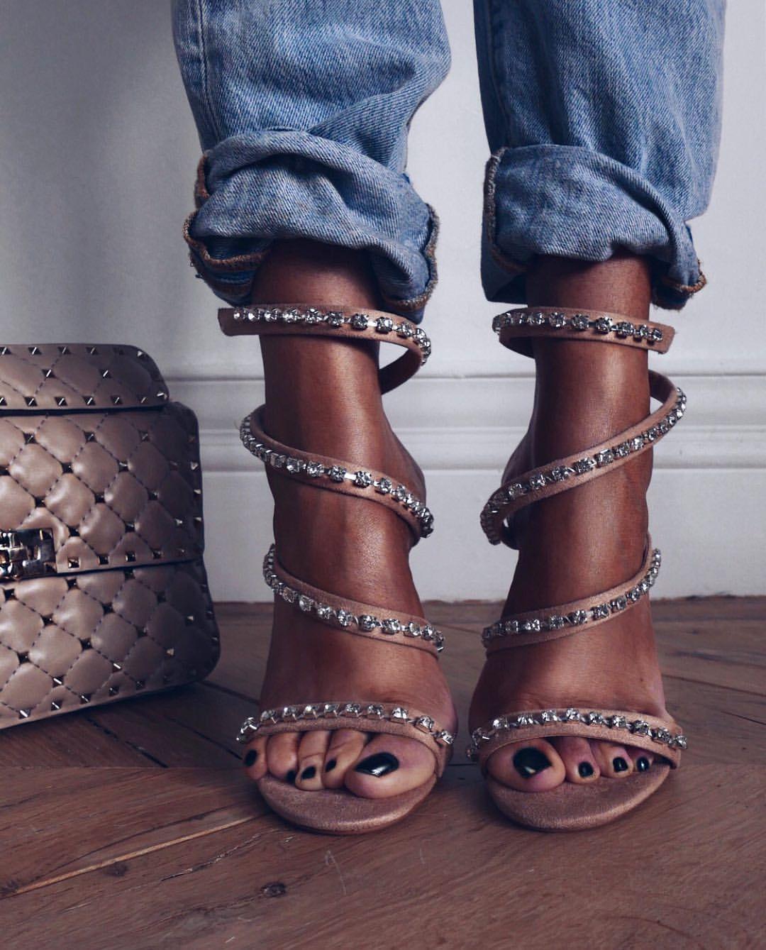 "52c5072ce015 Lorna on Instagram  ""My strappy  kirakira  sandals went into sale ..."