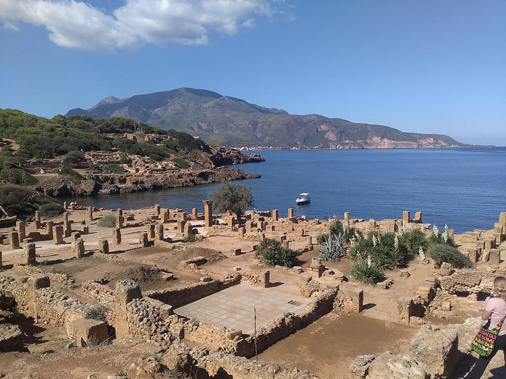 Ruines romaines de Tipaza.