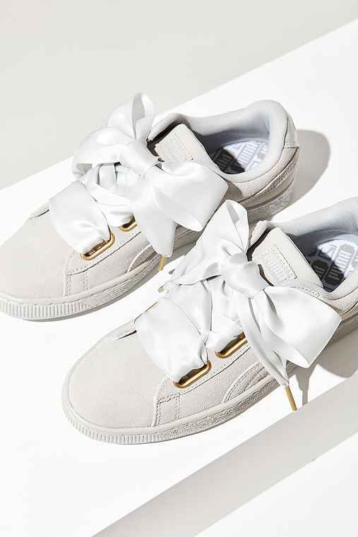 02850423473 Shop Puma Suede Heart Satin Sneaker at Urban Outfitters today. We carry all  the latest styles