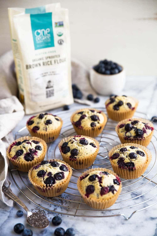 Best Gluten Free Vegan Blueberry Muffins Healthy Blueberry