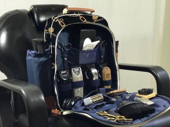 The professional barber bagpack