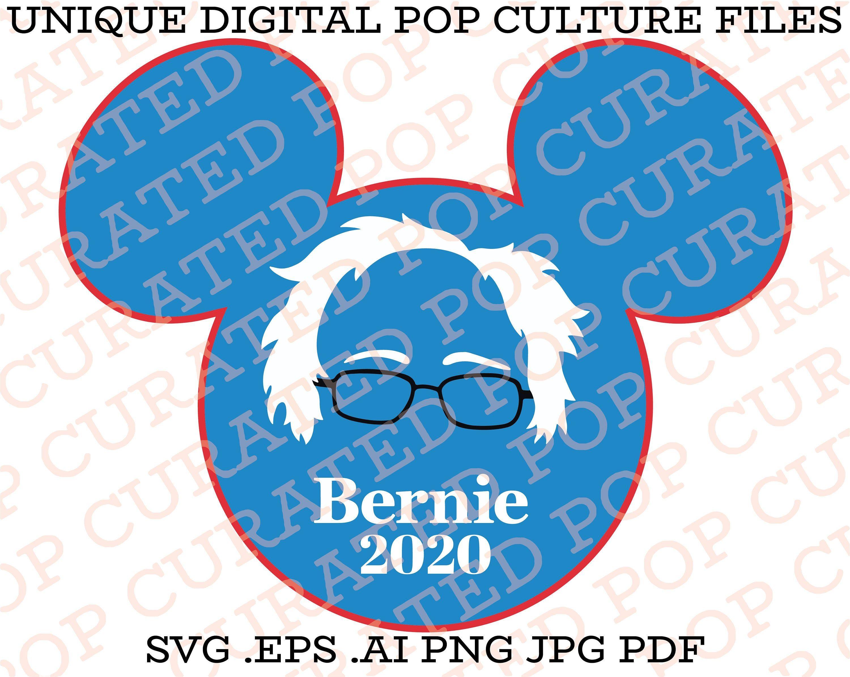 Bernie Sanders Mickey Mouse Disneyland Shirt Walt Disney Feel The Burn 2020 By Popcurated On Etsy Disneyland Shirts Disneyland Mickey Mouse